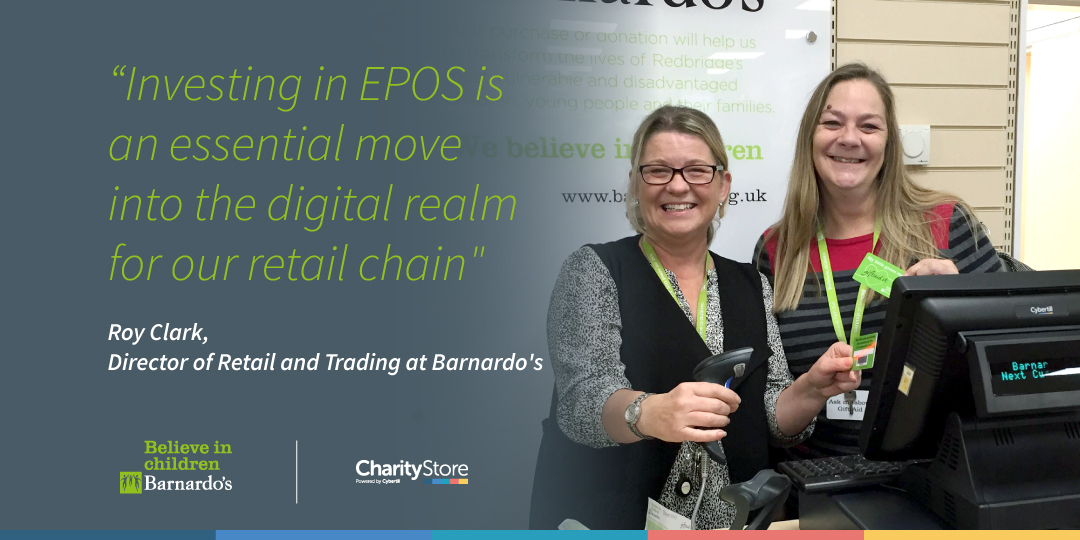 Barnardo's Retail Stores Roll-out CharityStore EPOS Software
