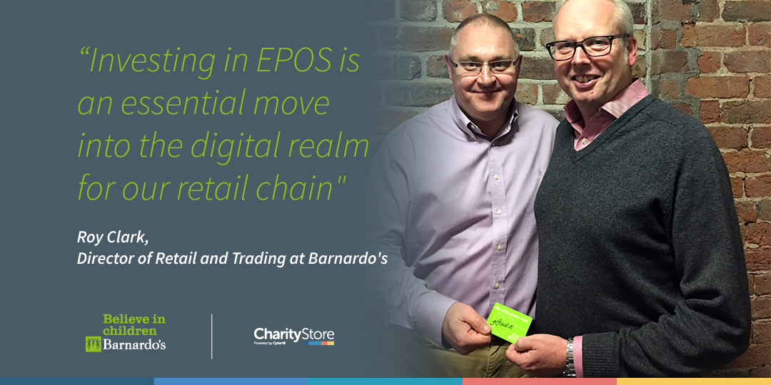 Barnardo's chooses CharityStore for EPoS Roll-Out