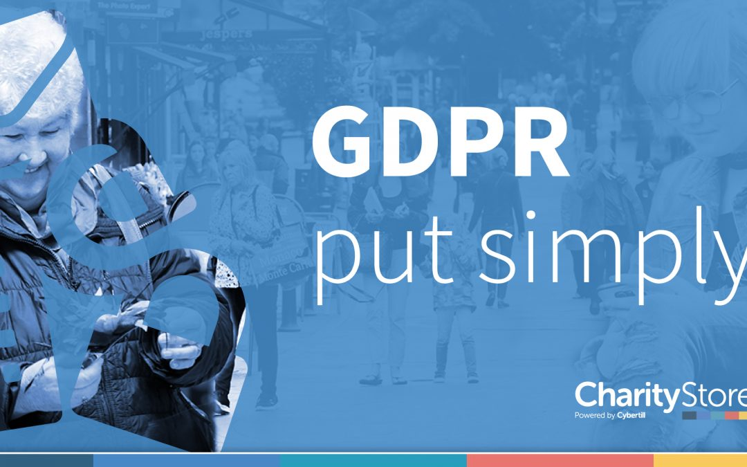 GDPR. A simplified guide for Charities.